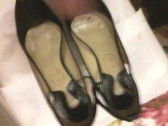 Cum my sisters high heels 12