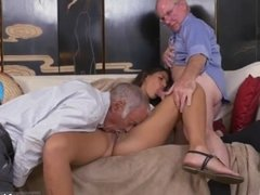 Old men licking ass and pussy Going South