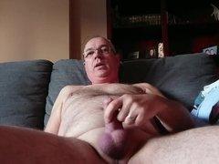 Masturbating at home