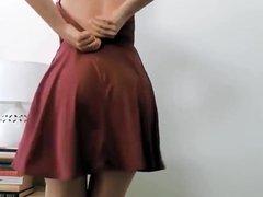 Upskirt Wedgie Hot Ass!