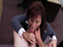 Pawn shop big tits xxx MILF sells her