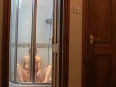 Sexy Girl Cums Hard in the Shower