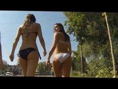 Candid Latina Bikini Teens