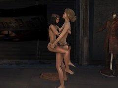 Fallout 4 Katsu sex adventure chap.4 Piper
