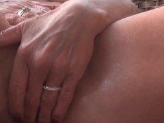 Masturbating on my deck Part 2 Orgasm