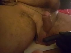Mistress Emma hammering slave's balls with nails(CBT)