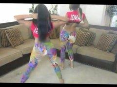 Latina & Indian girls twerking their perfect asses