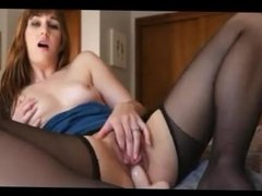 girl young mature pantyhose fisting anal dildo man lingerie 7
