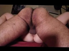 Real funny amateur hairy wife peluda gets fucked