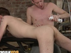 Sean Taylor has bondage fuck session with Casey O'Connel