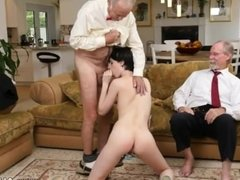 Old man sucking young cock Frannkie goes