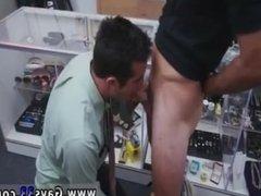 Licking cum up at gay glory holes Public