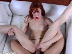 Teen fucks monster white cock Permission To