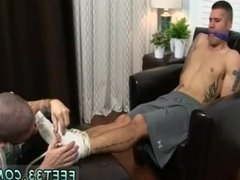 Free gay skinny feet first time Johnny Foot