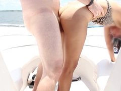 Wife Gets Fucked on a Boat