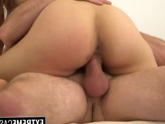 Cute ebony Jamie Marleigh hammered hard with a big cock