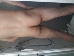 Solo stroke shower
