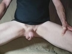 My Balls and Cock Bouncing In Super Slow Motion. Front View