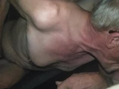 NOT my Dad 3 Blowjob and Masturbation in his Car