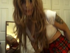 Sexy Tasha Schoolgirl Dirty Talk Slut Crossdresser Big Booty
