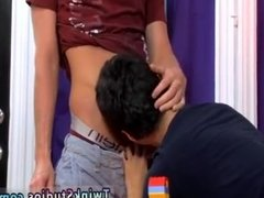 Twink thong gay porn Lucas gets caught