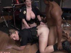 Intense milf sex Raw  grabs cop