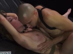 Rough mouth and face fucking black gangbang