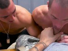Muscle bear blowjob  gay Extra