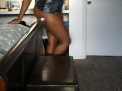 Her LAZY BOYFRIEND made her CUNNY creamy and made her SQUIRT