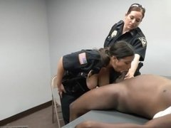 Milf punishes girl Milf Cops
