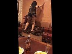 sexy arab slut dancing