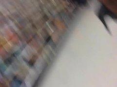 Upskirt at Walmart