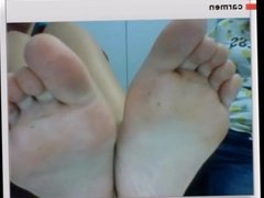 Sexy teens show me feet on chatroulette compilation 1