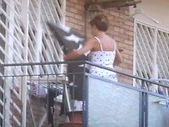 voyeur spy neighbour milf