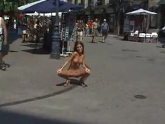 babe public nudity