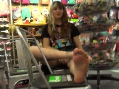 21 Years Old Girl Soles Feet