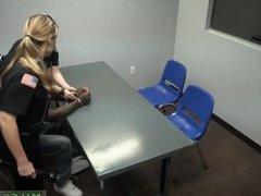 German blonde amateur milf gangbang police
