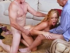 Blonde kitten sucks first time Frannkie And