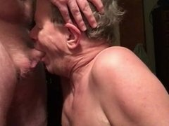 Cocksucker Takes A HUGE CUM FACIAL!!!! In His Eyes and All over Face