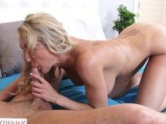 Step mom Brandi Love dreams about dick