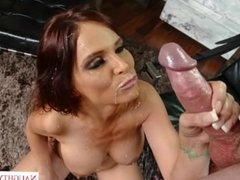 Step mom Syren De Mer catches boy