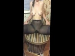 masturbation in my pantyhose