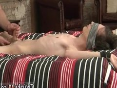 Young boy bound and fuck gay Slippery Cum