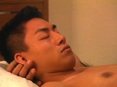 Japanese guys having hot sex