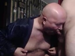daddy suck son cock