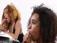Dad spanks friend's daughter in office xxx