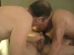 3 (bi) Men & and Lady