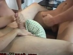 Straight man getting dick sucked by gay gas