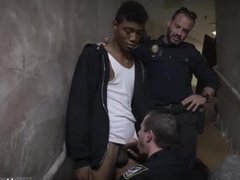 Black white gay euro sex Suspect on the