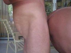 Daddy bareback breeds whore boys sloppy cumhole